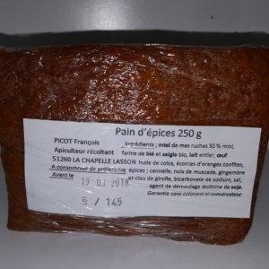 Pain d'épices - Picot François