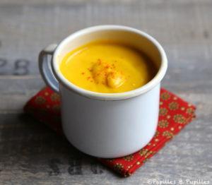velouté de carottes jaune