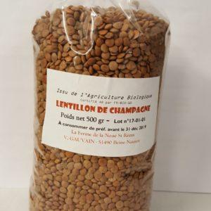 lentillon 500gr au-potager-de-becheret ©