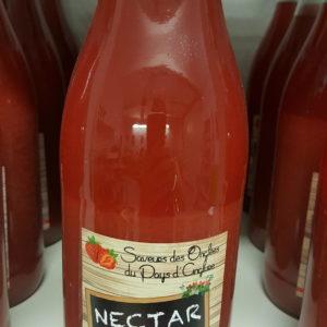 nectar de fraise 1 litre au-potager-de-becheret©