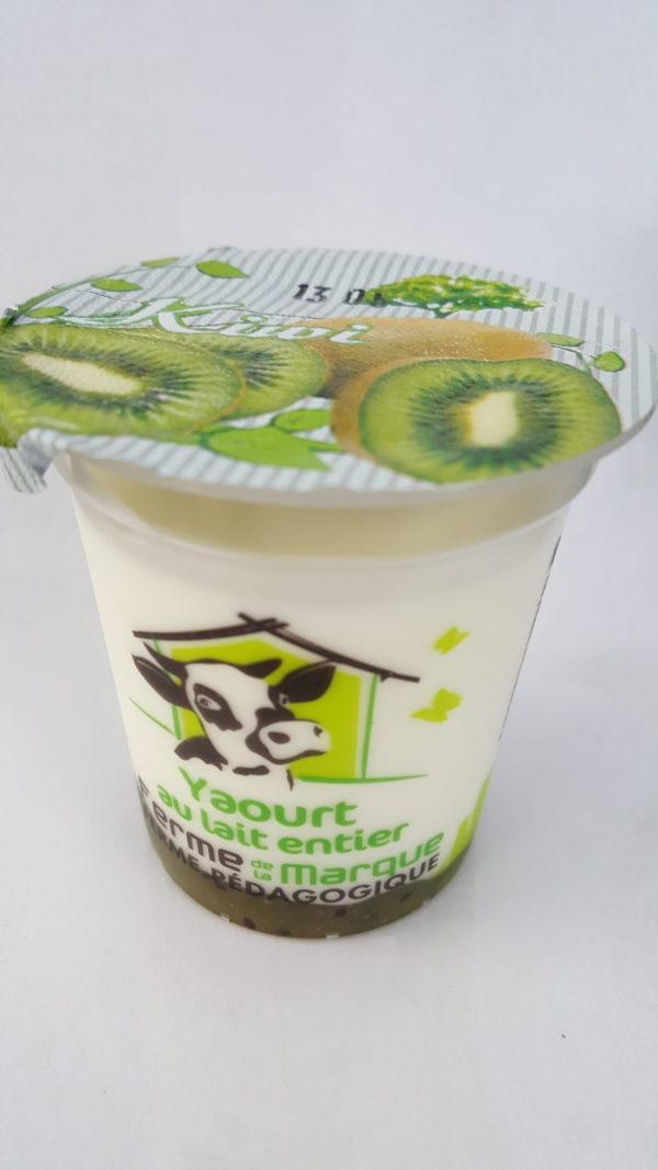 yaourt brassé kiwi au-potager-de-becheret.com©