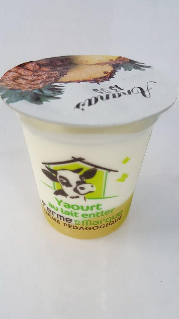 yaourt brassé ananas au-potager-de-becheret.com©